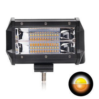 5 Inch Double Color Small Led Light Bar 9628BS