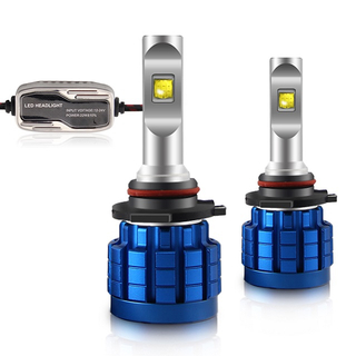 Automotive Plug And Play Led Headlight Bulbs Q10