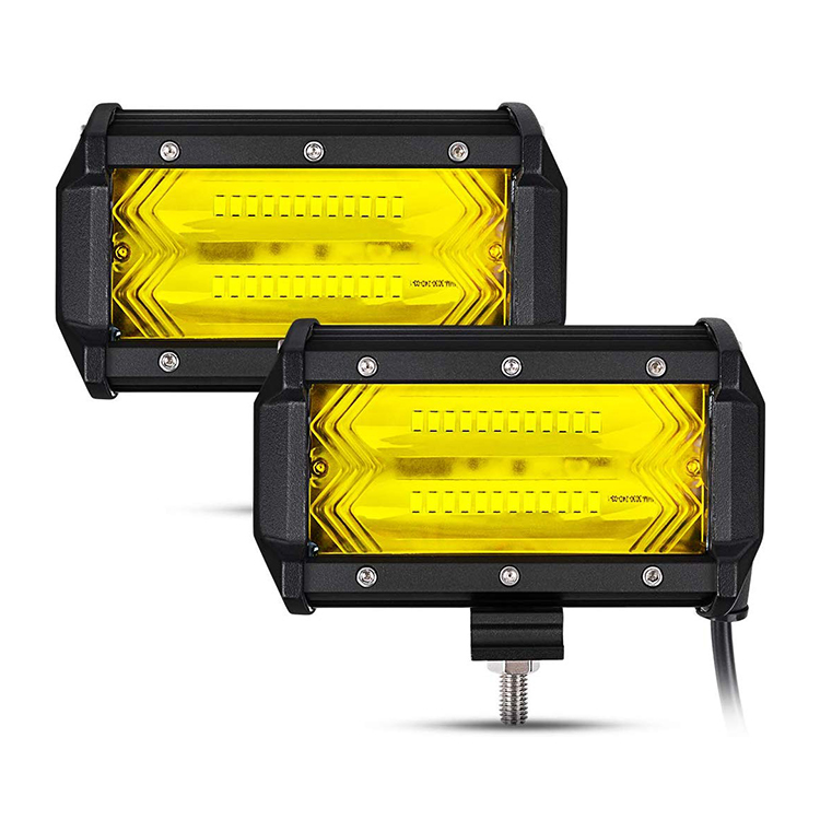 5 Inch Yellow/White Fish Tail Led Work Light JG-9628Z