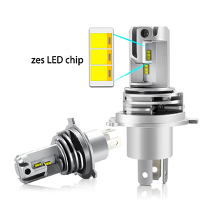 12V ZES Wireless LED Headlights Bulb JGM3 - H4