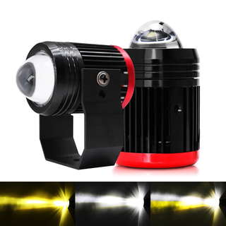 External Flashing Dual Colors Integration Led Auxiliary Light for Motorcycle JG-993A