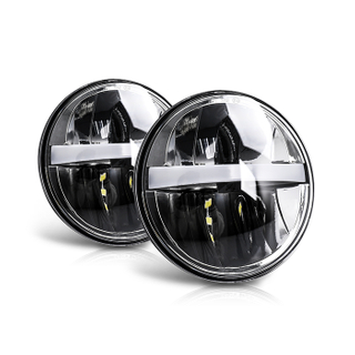 Eagle Series ® 5.75 Inch DRL Round Led Motorcycle Headlight JG-M004