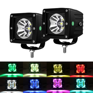 3 inch RGB Led Auxiliary Light for Off Road Vehicles 995R