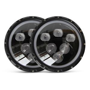 Jeep Wrangler Custom Headlight J006